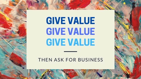 give value as an affiliate marketer
