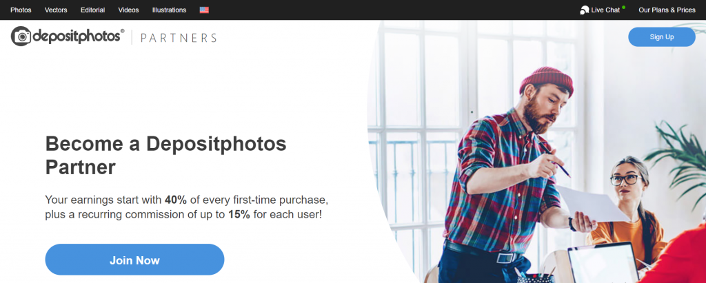 become a deposit photo partner