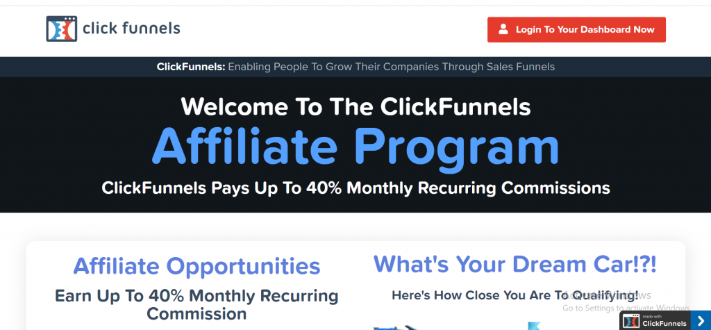 Make money online with clickfunnels
