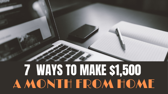 make $1500 a month from home