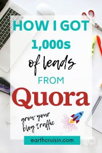 How to use Quora to grow blog traffic