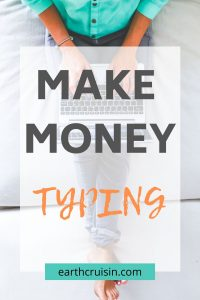 how to make money typing