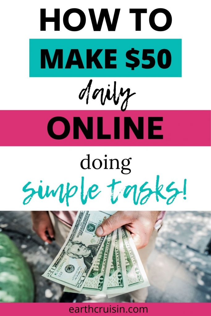 how to make $50 daily online