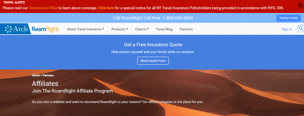 best travel insurance affiliate program