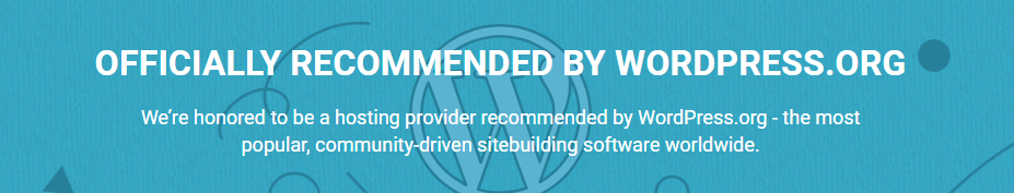 siteground review officially recommended